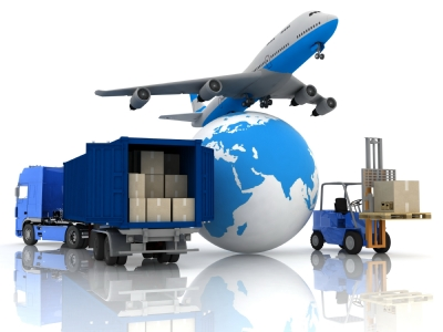 Import and export couriers
